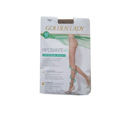 COLLANT ELASTICIZZATO GOLDEN LADY RIPOSANTE 40 MELON RIPOS40
