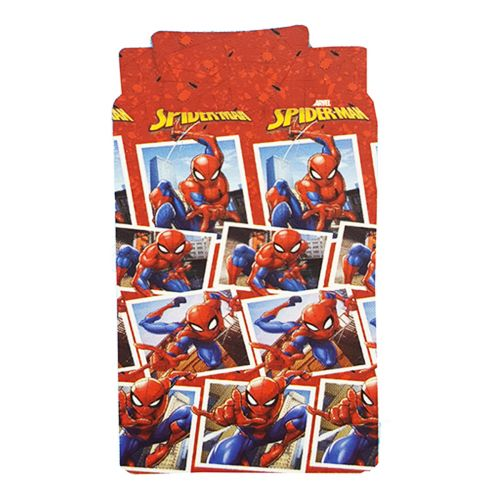 COMPLETO LETTO 1PZ SPIDERMAN  WALT DISNEY 016039