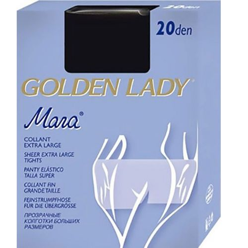 Collant Mara 20 denari Golden Lady camel