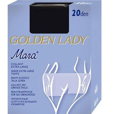 Collant Mara 20 denari Golden Lady silver