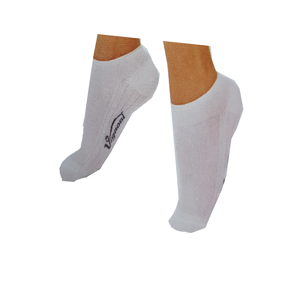 Calzini 12 paia bianchi unisex minicalze cotone corto calza donna uomo