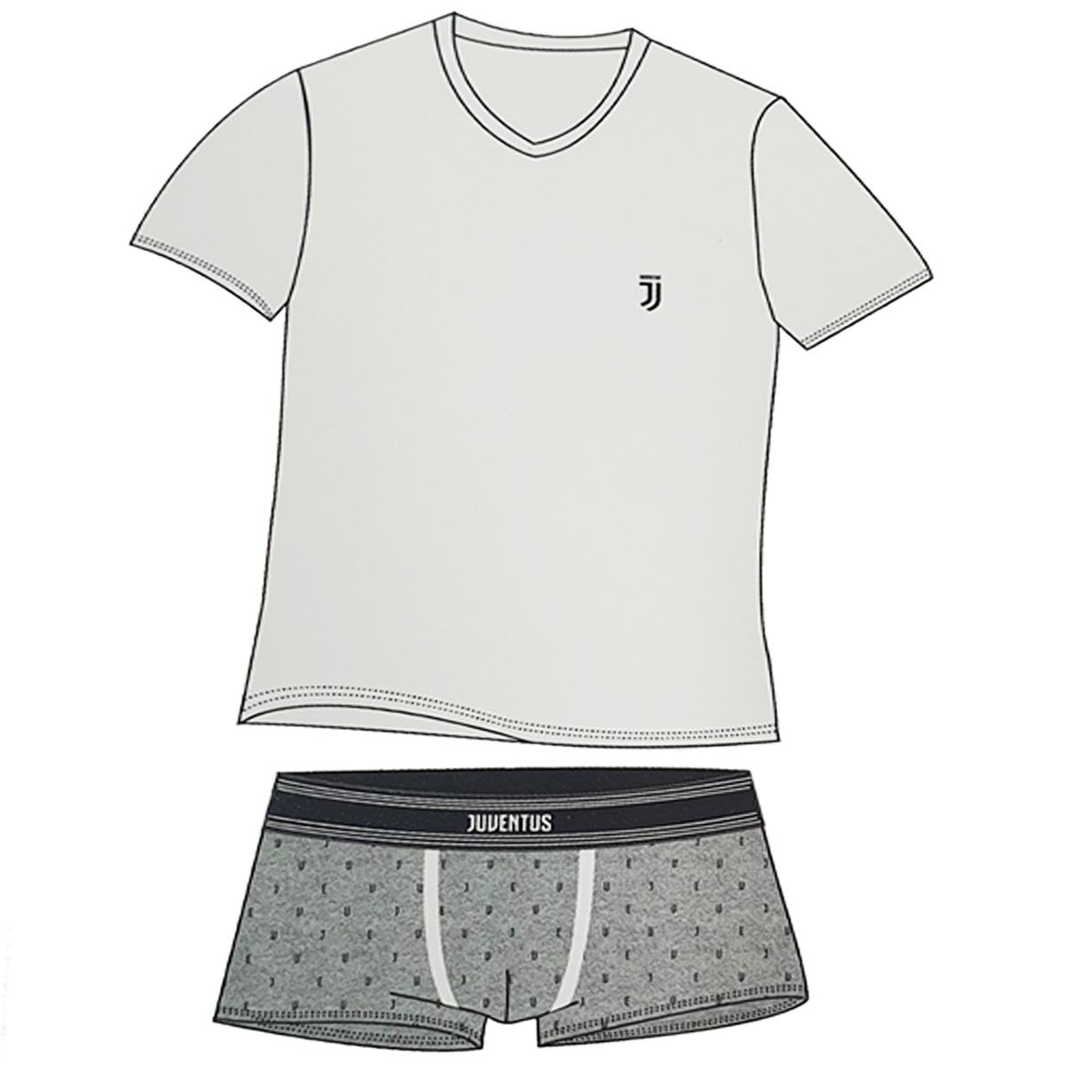Boxer A.C Milan Completo Intimo Set T-Shirt Prodotto Ufficiale