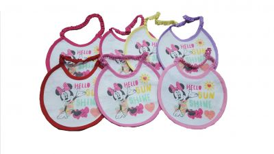 SET PZ.7 BAVETTE MINNIE WALT DISNEY 1216