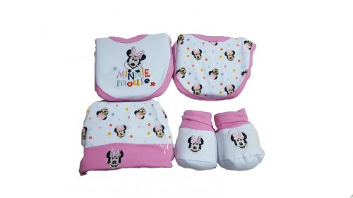 SET REGALO NEONATA MINNIE WALT DISNEY 1402C