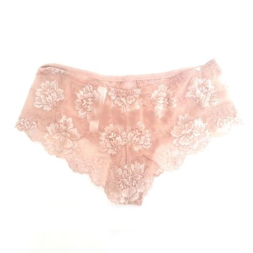 Short Deluxe Lormar in pizzo noisette